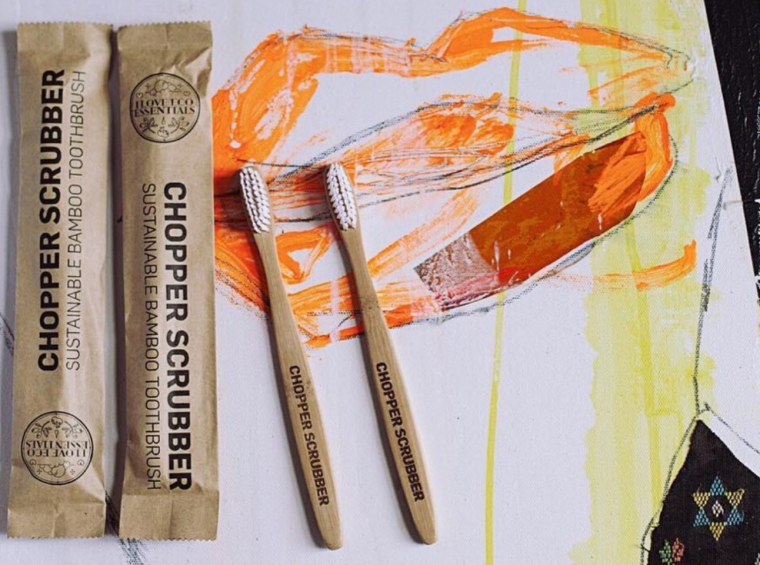 """Soulmade """"Chopper Scrubber"""" Sustainable Bamboo Toothbrush"""