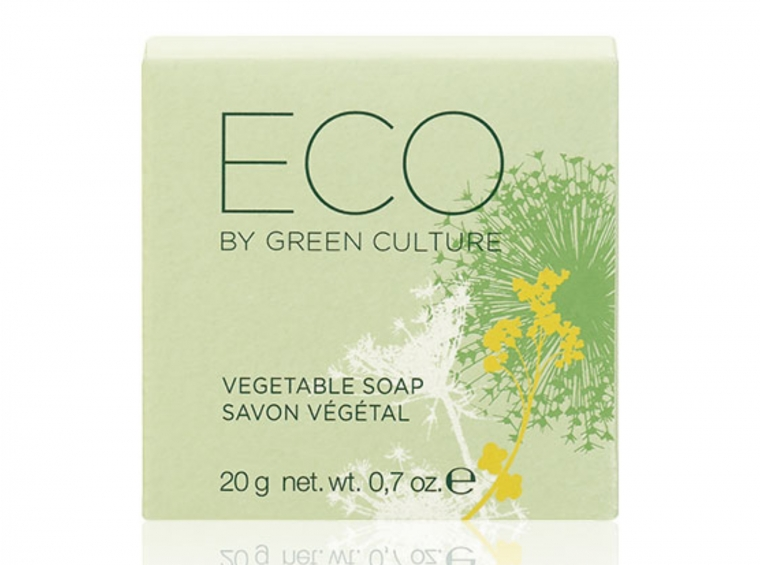 Eco by Green Culture Pflanzenseife, 20g